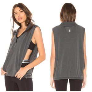 Free People Movement NWT Black MOVIN' ON Vest